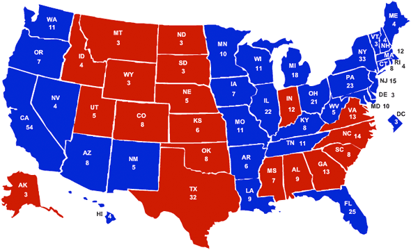 The 1996 Presidential Election