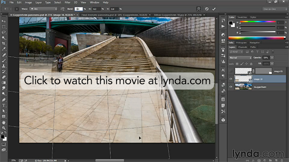 Click to watch exclusive movie at lynda.com on correcting bad stitching
