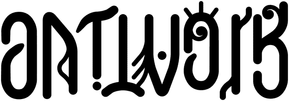 Creative artwork ambigram