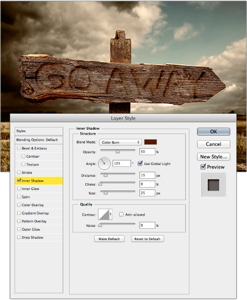 Deke's Techniques 088: Hand-Carving Letters into Wood in Photoshop