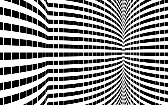 Deke's Techniques 15: Op Art Experiment 1b: Rounded Windows