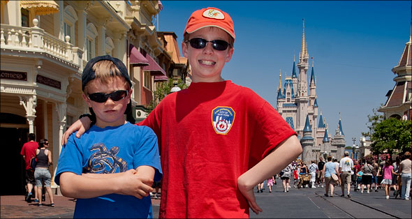 Sam and Max in Magic Kingdom