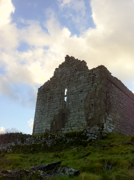 Curan Abbey is not a castle