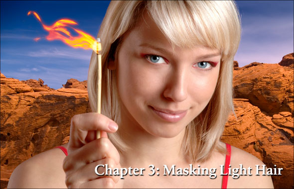 Chapter 3, Masking Light Hair
