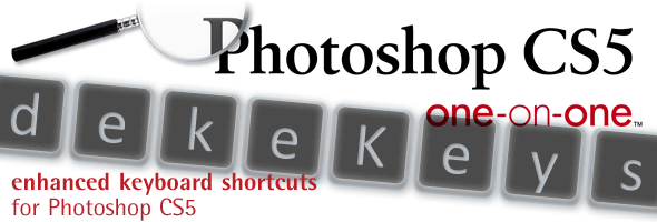 dekeKeys: Enhanced Shortcuts for Photoshop CS5