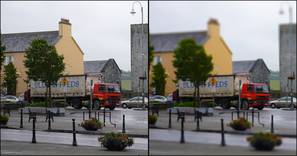 Listowel before and after miniturization