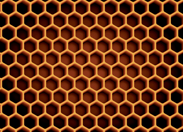 Deke's Techniques 262: Creating a Honeycomb Pattern from ...