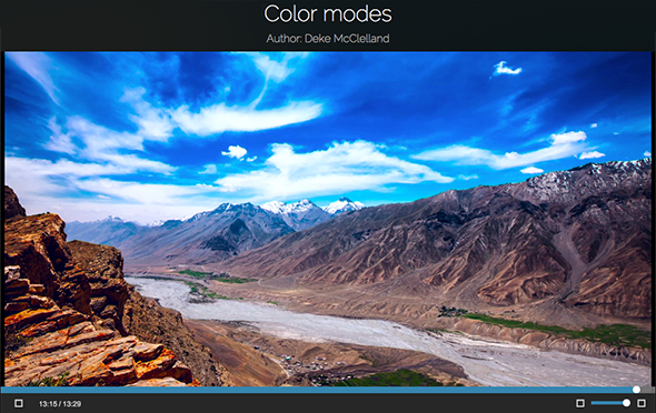 What do color modes in Photoshop do?