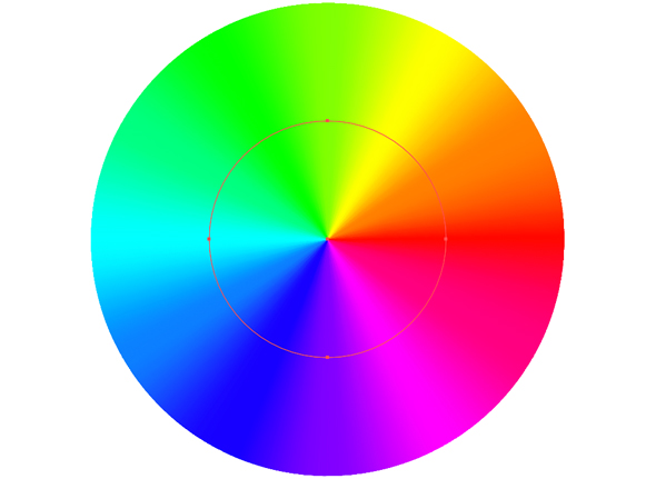 Wrapping a gradient around a circle in illustrator a deke article if youre a member of lynda dekes got an exclusive movie this week in which he shows you how to add the saturation aspect of the traditional color ccuart Images