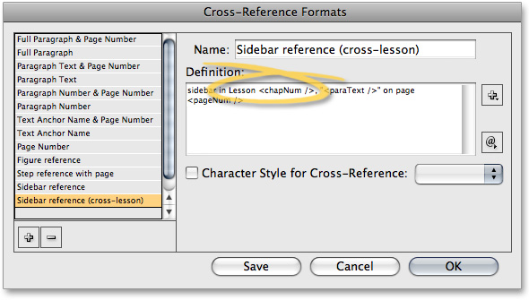 Working with Cross-References in InDesign, a deke com article