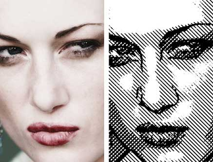 Line Art Effect Photoshop Tutorial : Creating a photo realistic line drawing part deke article
