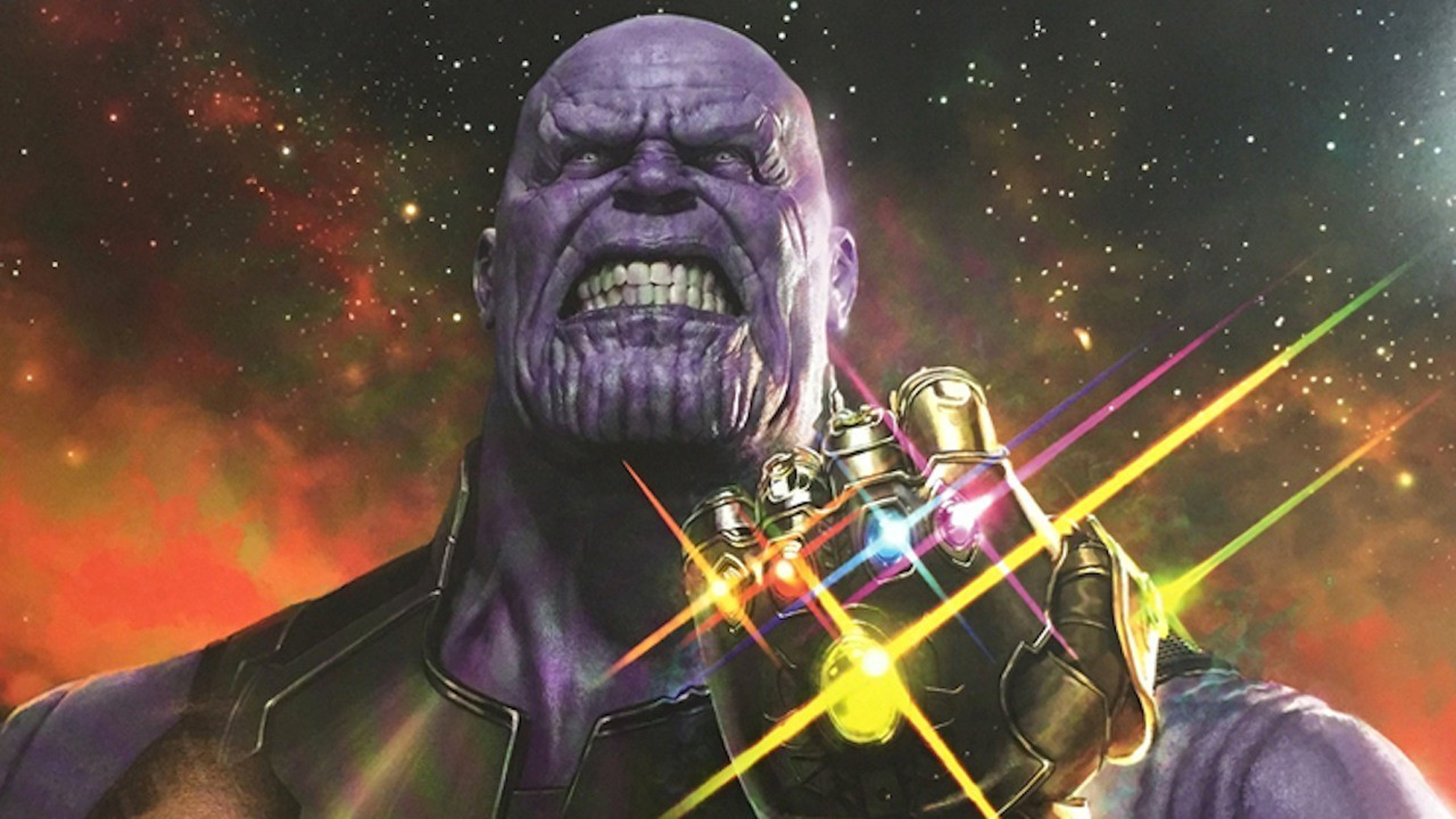 Thanos with all six stones, the son of a gun