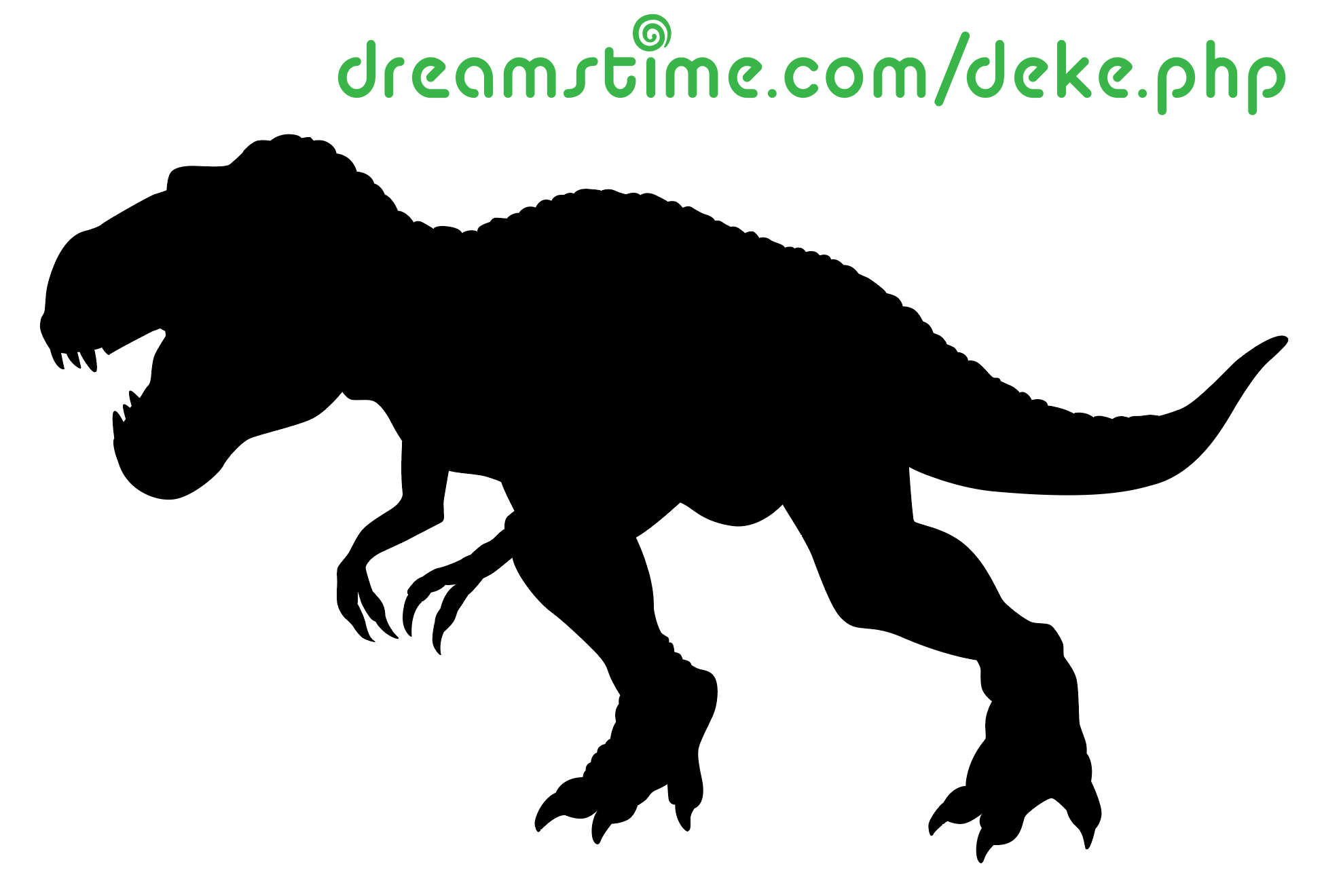 A vector T-rex courtesy of Dreamstime.com
