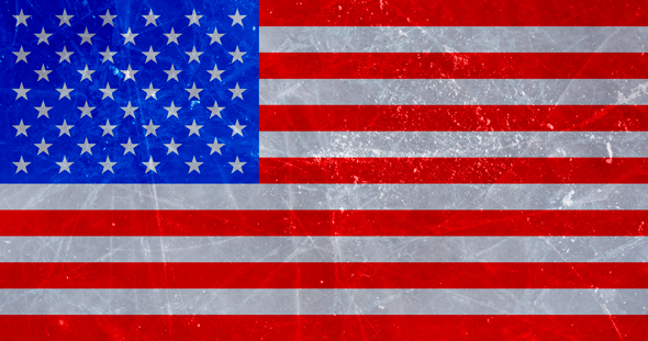 Deke's Photoshop rendition of the American flag.