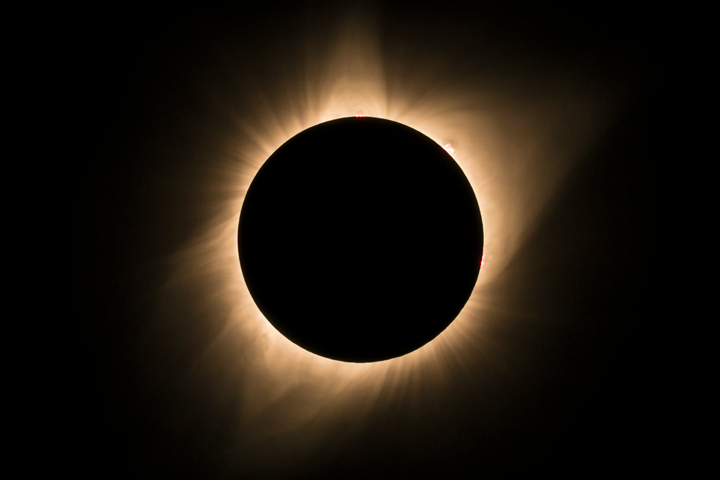 Processed eclipse totality in Camera Raw