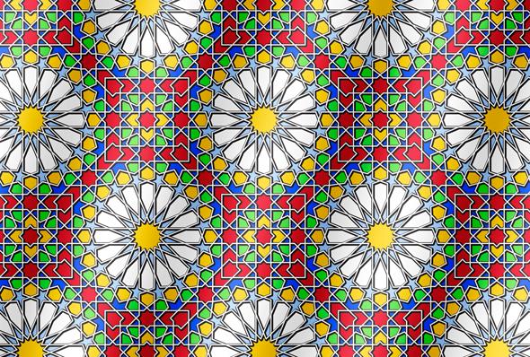 Islamic Design Part I, Flirting with Geometric Genius, a deke com