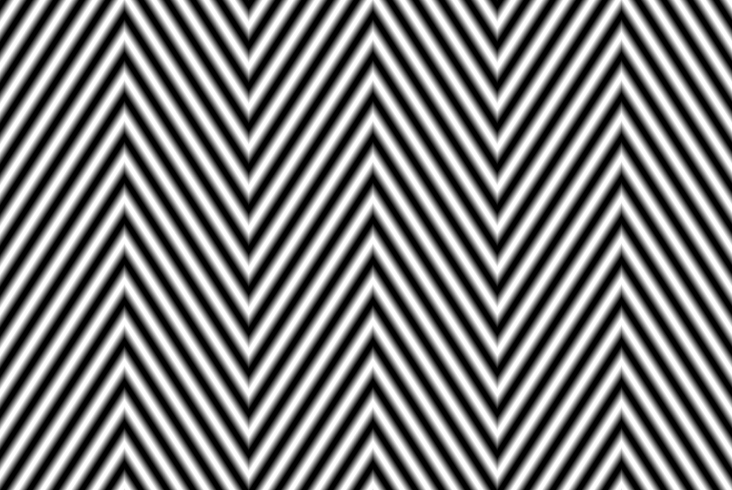 A black and white zig-zag pattern to be used as a displacement map in Photoshop
