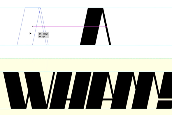 Kerning the logo letters in Illustrator