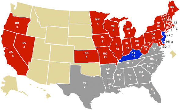 The 1864 Presidential Election