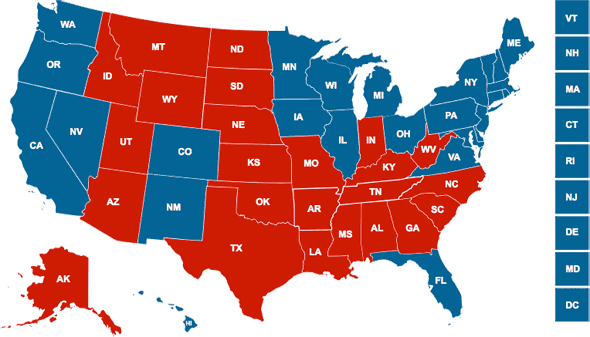 The (actual) 2012 Presidential Election