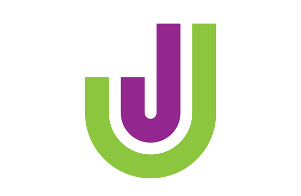 J Logo created in Illustrator