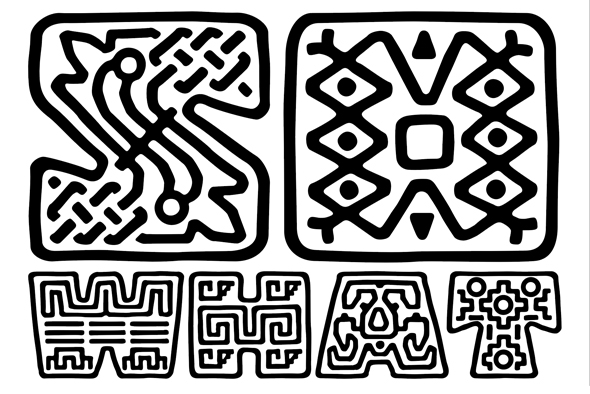 The Copal font has a Decorative variant
