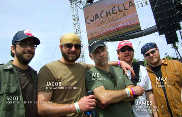The once Coachella gang goes to Bonnaroo