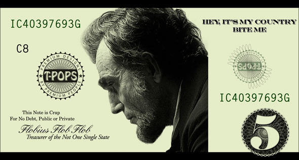 The new 5-dollar bill in Photoshop