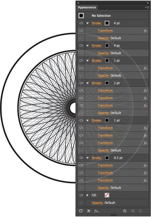how to make spirograph patterns in illustrator