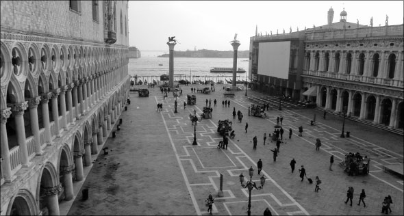 One sample Saint Mark's Square photograph