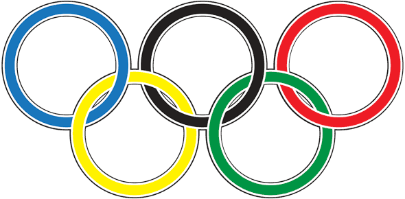 The double-stroked Olympic rings, in Illustrator