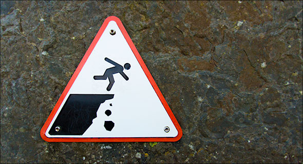 The Danger-Don't-Fall-Off-This-Cliff Guy