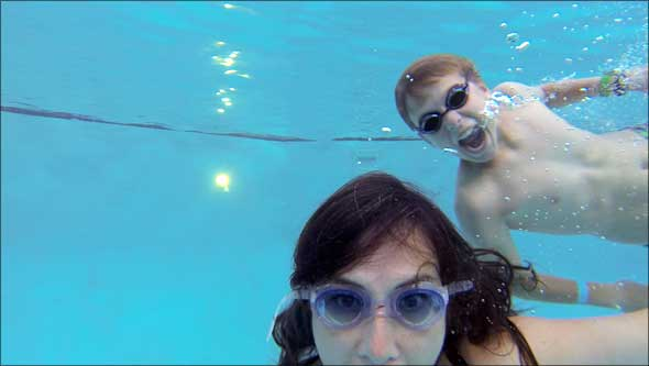 GoPro photo of Max & Colleen