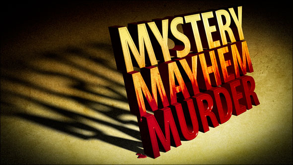 Photoshop Extended One-on-One: 3D Type Effects, murder mystery