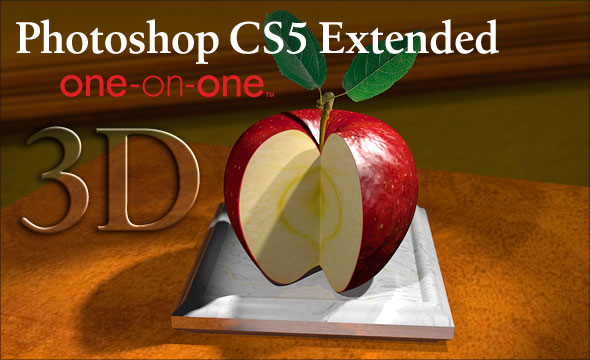 Photoshop CS5 Extended One-on-One 3D