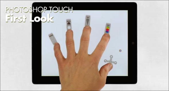Free video training for Photoshop Touch