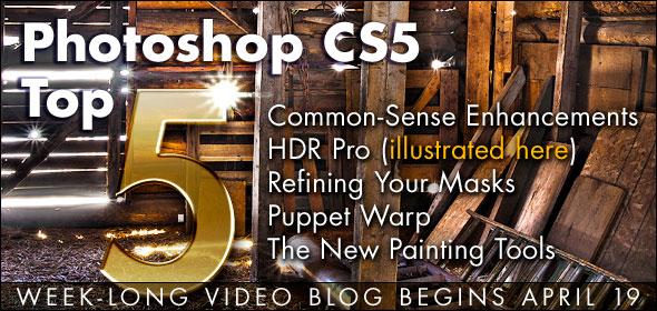 Photoshop CS5 Top 5