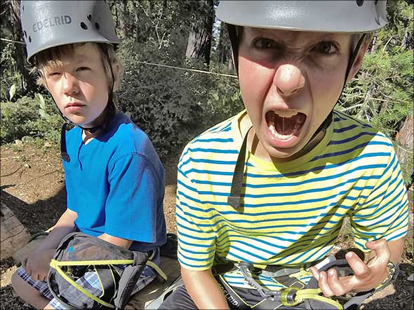 Treetop Adventure Park, Granlibakken, Lake Tahoe, Califor
