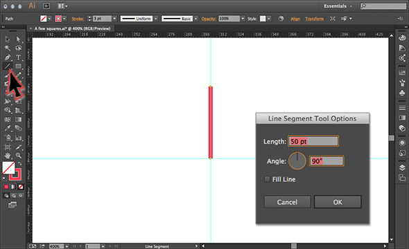 Technique of Illustration Drawing Draw a Segment in Illustrator