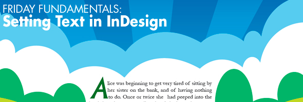 Setting Text in InDesign
