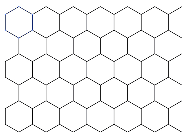 How To Draw Honeycomb Pattern Sketch Coloring Page