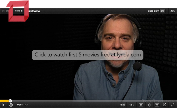 Watch the first five movies of Introducing Photoshop free