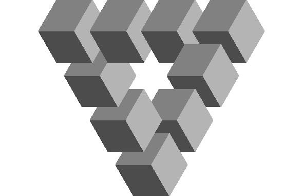 Penrose Triangle Cubes Deke's Techniques 330:...