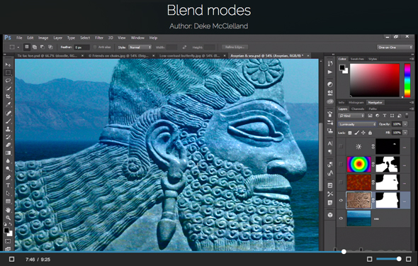 What do blend modes do?