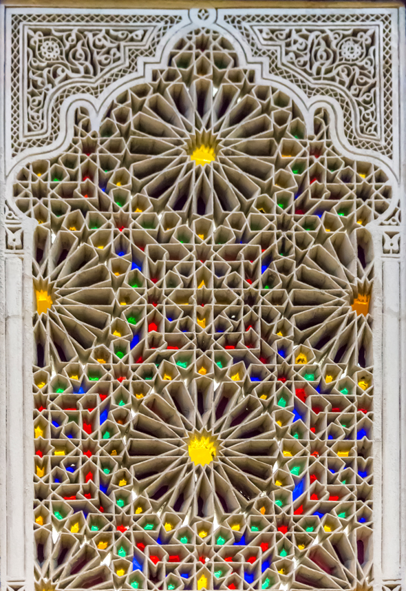 A Tunisian stained glass window from the V&A