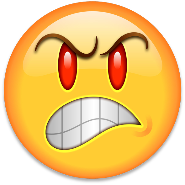 angry iphone emoji - photo #13