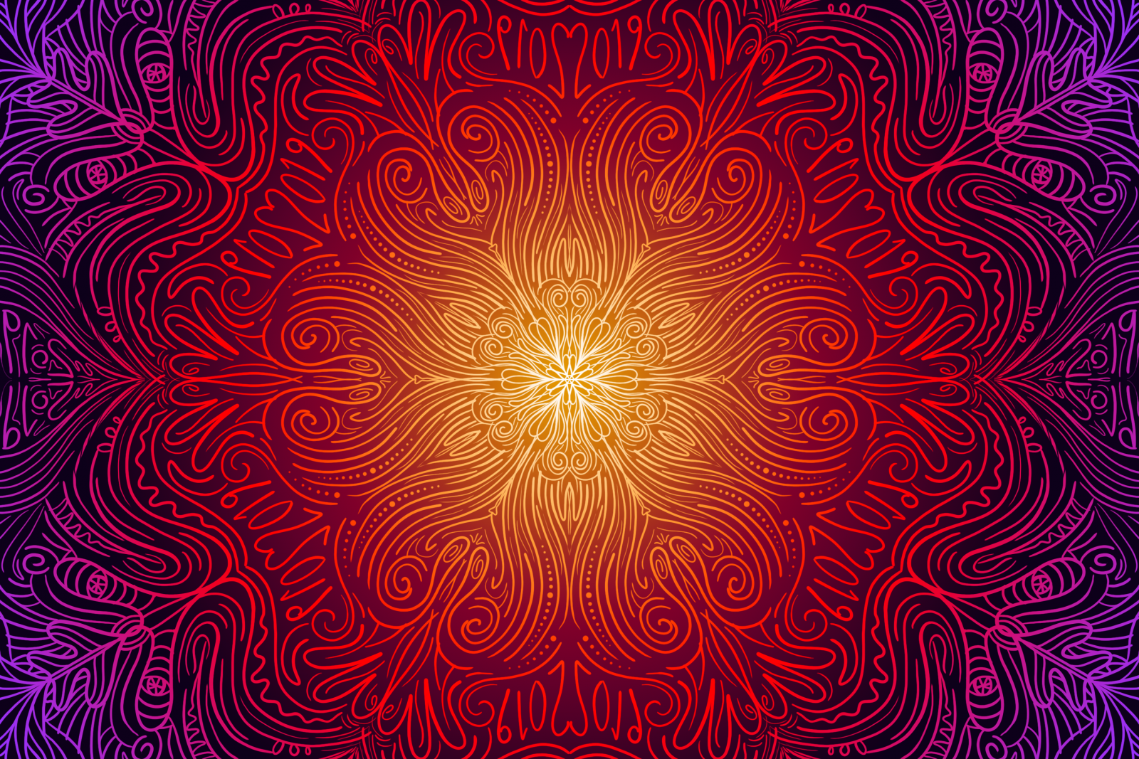 Mandala Patterns in Photoshop CC 2019, a deke com article