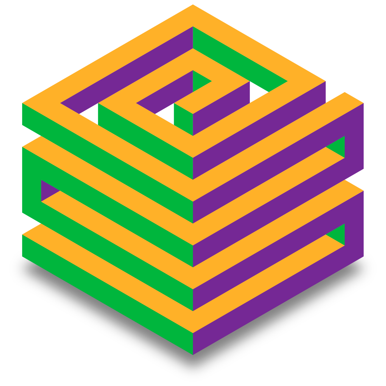 Designing an Intriguing Cube Logo in Illustrator, a deke com
